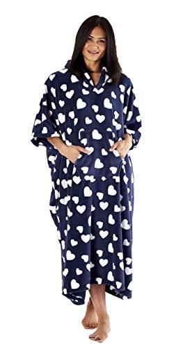Inspirations - Poncho con capucha para mujer, diseño de