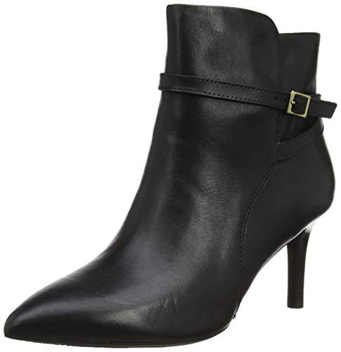 Rockport Damen Total Motion Ariahnna Strap Boot Kurzschaft Stiefel, Schwarz (Black Leather 001), 37 EU
