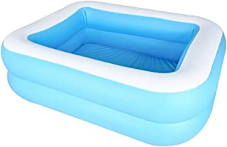 Rectangular Inflatable Family Swimming Pool, Drifter Swimming Pool Swimming Pool For Boys And Girls Water Pool Above Groun...