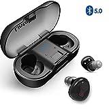 Lintelek TWS Bluetooth V5.0 Wireless Kopfhörer Earbuds In-Ear Ohrhörer Mini Sport Ohrhörer Stereo Headset mit Mikrofon Mini Ladebox Für alle Bluetooth-Geräte