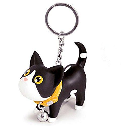 Eysee Schlüsselanhänger, Anhänger für Schlüssel Tasche Lovely eine süß Katze
