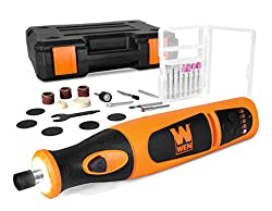 top rated WEN 23072 Lithium Ion Cordless Rotating Tool Set, Variable Speed and 24 Piece Accessory Set,… 2021