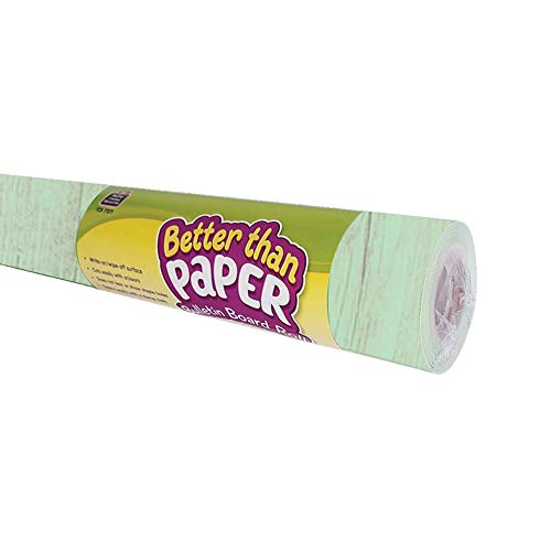Teacher Created Resources Mint Painted Wood Better Than Paper Bulletin Board Roll (TCR77883) Photo #2