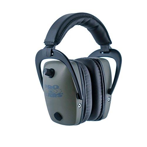 Pro Orejas–Pro TAC Slim Oro–Grado Militar protección auditiva y Amplificación–NRR–28–Orejeras–de Litio 123A...