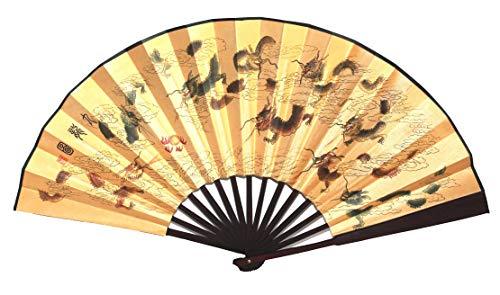 AAF Nommel Asia Art Factory Echter chinesischer Handfächer 027, Motiv Kirschbaum Kirschblüte