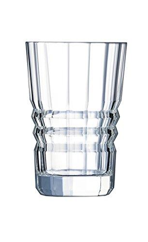 Cristal d'Arques L6586 Set de 6 Gobelets, Transparent