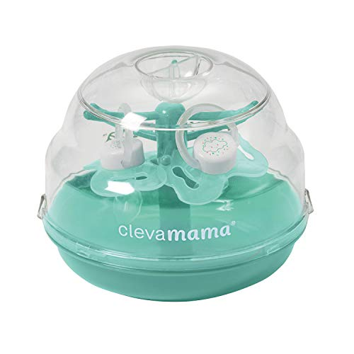 Lowest Price! Clevamama Soother Tree - Microwave Soother Steriliser Incl 2 Soothers