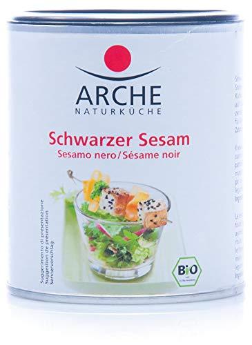 Arche Sesam, schwarz, ganz (125 g) - Bio