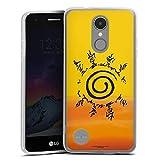 DeinDesign Coque en Silicone Compatible avec LG K4 2017 Étui Silicone Coque Souple Naruto Shippuden...