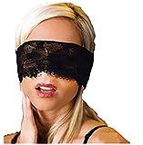 Edtoy Black Sleeping Lace Eye Mask Blindfold Nightwear Costume Masquerade Ball Party Upper Face Mask