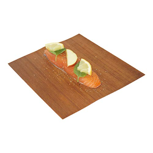 41C50uPwhVL - grillart® Premium BBQ Wood Wraps - 12 Pack XL Grillpapier – Zedernholz zum Grillen – Räucherpapier aus Zedernholz für einen besonderen Grillgeschmack