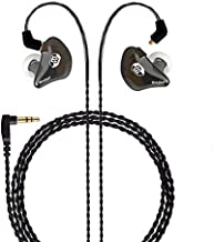 BASN in Ear Monitor Headphones Singer Earphones Noise-Isolating Comfort Earbud for Musicians (BC100 ClearBrown)