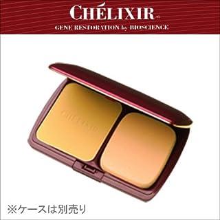 CHELIXIR シェリキサー シュプリームパウダリーパクト(レフィル) 11g スポンジパフ付き   【カラー:ピンク】