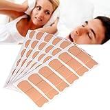 Anti Schnarch Aufkleber,Mundsticker Nasenatmungs Hilfsaufkleber, hypnotisches Schlafen, Mundatmung verhindern