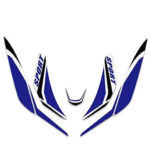 Para Honda SH125 SH 125 Motocicleta Frontal Cuerpo A prueba de agua Calcomanía Etiqueta de carenado Super Sticky Kit Proteger calcomanías decorativas Accesorio Pegatinas (Color : C)