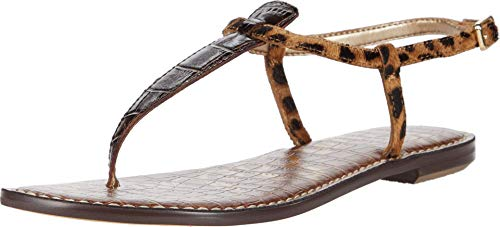 Sam Edelman Gigi Dark Brown/Brown Multi Splendor Croco Leather/Leone Leopard Brah 7