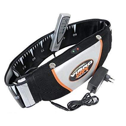 Aatij Vibro Shaper Belt Vibration Heating Relaxing Slimming Shape Belt Massager Fat Burner Vibro Shaper Belt Fitness Vibrating Magnetic Slimming Belt