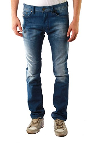 Diesel Thavar 0855G_Stretch Herren Jeans (31W / 32L, Blau)