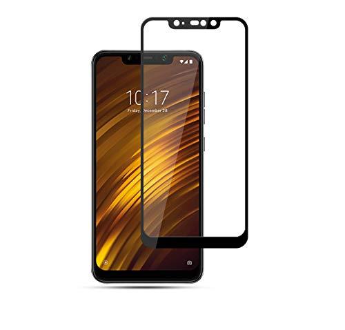Película De Vidro Temperado Full Cover 3d Para Xiaomi Pocophone F1 Bordas Preta - Danet