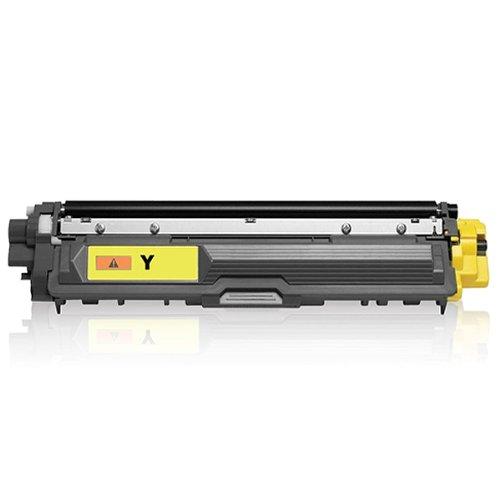 Print-Klex Tonerkartusche kompatibel für Brother DCP 9017 CDW DCP 9022 CDW MFC 9142 CDN MFC 9332 CDW MFC 9342 CDW HL 3142 CW HL 3152 CDW HL 3172 CW TN242 TN 242 TN 242Y Yellow - Color Line Serie