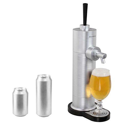 Grifo de cerveza para latas de cerveza con espuma de cerveza (bandeja de goteo extraíble, sistema de bomba, grifo de cerveza)