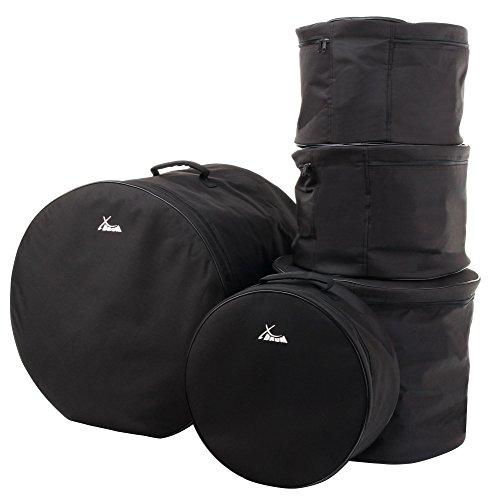 XDrum Set Borse batteria, misure Studio: 20', 14', 12', 10' e 14,5'