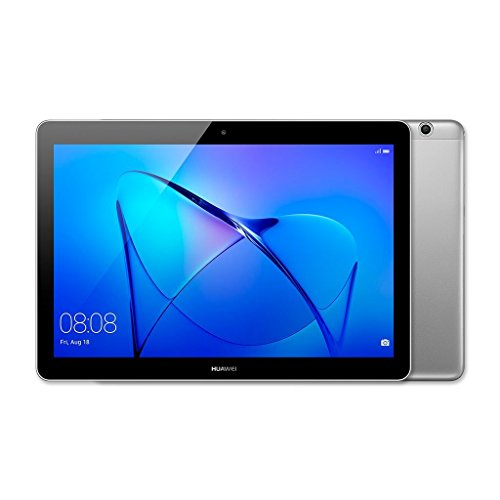 HUAWEI MediaPad T3 10 – 9.6 Inch Android 8.0 Tablet, HD IPS Display with Eye-Comfort Mode, 16 GB, Dual Stereo Speakers, 4800 mAh, Up to 9.8 Hours Video Playback, Children's Corner, Grey