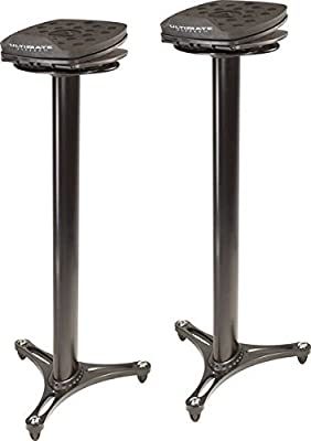 Ultimate Support MS Series Professional Column Studio Monitor Stand with Adjustable Angle and Axis