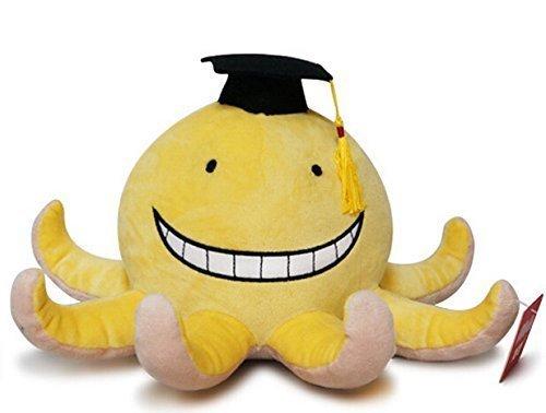 Assassination Classroom 10in Korosensei Octopus Cute Plush Dolls Stuffe'd Toys Doll LATT LIV