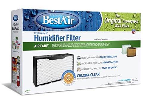 BestAir CB41, Essick 1041 Replacement, Paper Wick Humidifier Filter, 17