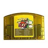 N64 18 in 1 Gioco Carta Mario Partito 1 2 3 Aggregazione +15 Notizie Nintendo 64 Videogiochi Cartucce N64 Console US Version