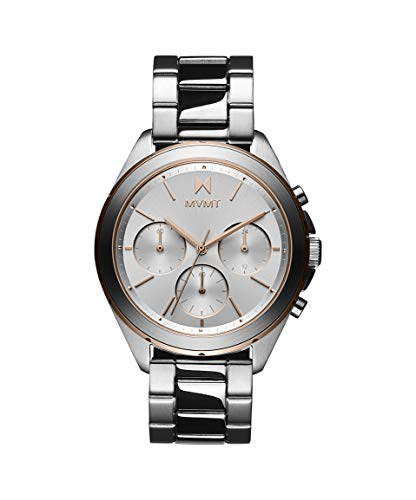 MVMT Damen Analog Quarz Uhr mit Edelstahl Armband 28000127-D