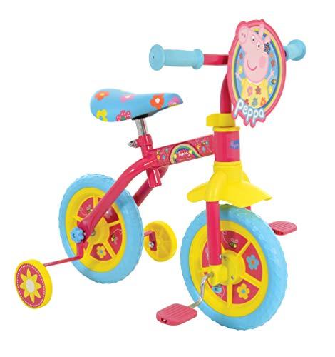 Peppa Pig M004176 2-in-1 Fahrradtraining, 25,4 cm, mehrfarbig