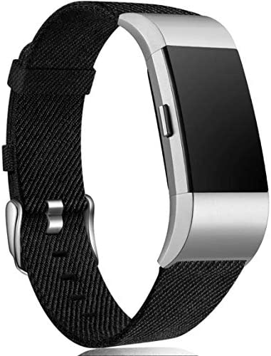 Maledan Compatible with Charge 2 Bands for Women Men Breathable Woven Fabric Replacement Accessory product image