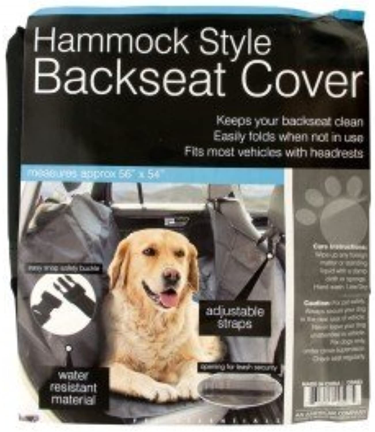 Hammock Style Backseat Cover for Dogs