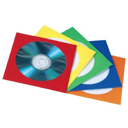 Hama Papierleerhüllen 50er-Pack, farblich sortiert