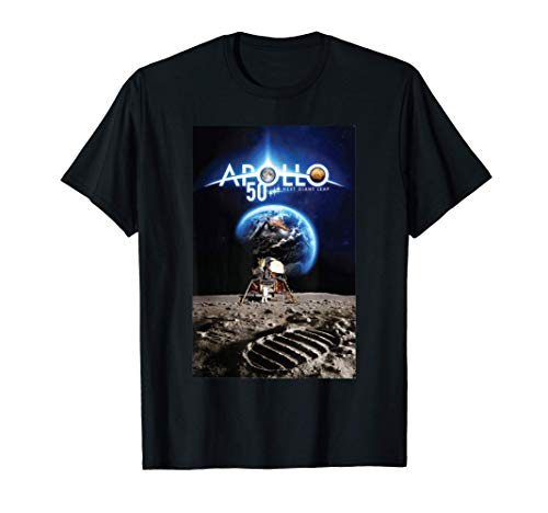 NASA Programma Apollo 50 per Donne e Uomini Cool Shirt Art Maglietta