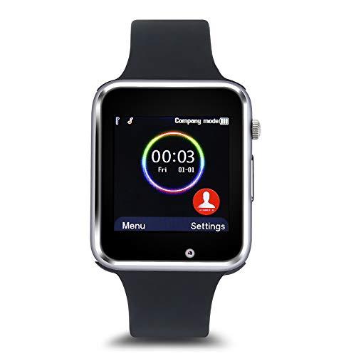 Demeras Reloj Inteligente Unisex, Impermeable, multifunción, Reloj de Fitness con Monitor de...