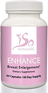 IsoSensuals Enhance Breast Enlargement Pills (60 Day Supply)