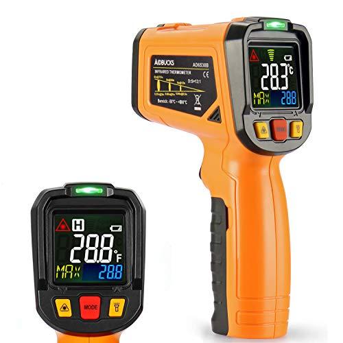 Termometro Laser Janisa AD6530B Infrarosso Pistola Termometro digitale Temperatura Raggio da -50 ℃ a 800 ℃