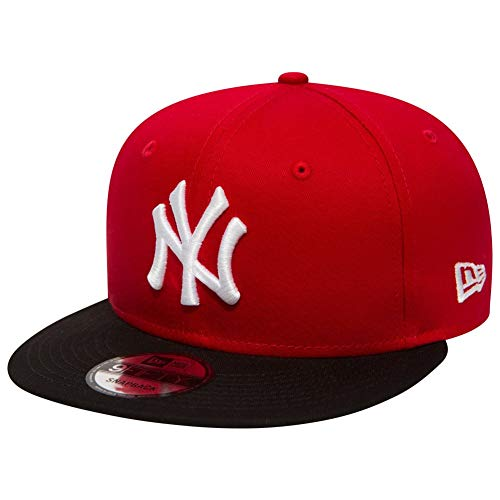 New Era MLB YAN - Gorra para Hombre, Color Negro, Talla única