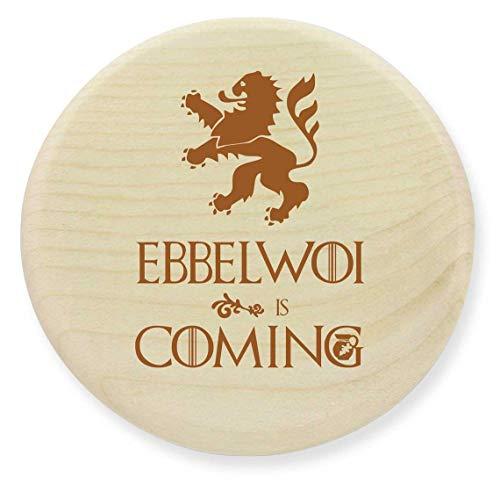 die stadtmeister Glasabdeckung Holz Ebbelwoi is Coming
