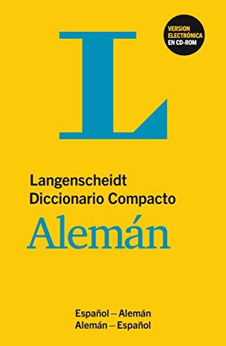 DIC.COMPACTO ESPAÑOL/ALEMAN+CD