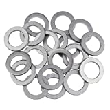 VOTEX - 20 Pack - M16 Aluminum Oil or Coolant Crush Washers/Drain Plug Seal Ring Gasket - MADE IN USA