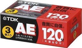 TDK Media TDK オーディオカセットテープ AE 120分3巻パック [0142]