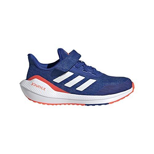 adidas EQ21 Run EL K, Zapatillas de Running, AZUREA/FTWBLA/Rojsol, 28 EU