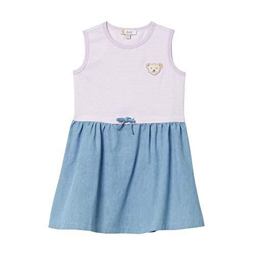 Steiff Mädchen Kleid, Violett (Pastel Lilac 7008), 86