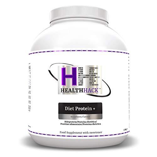 Health Hack - Diet Plus Protein, 2,5 kg, fresa