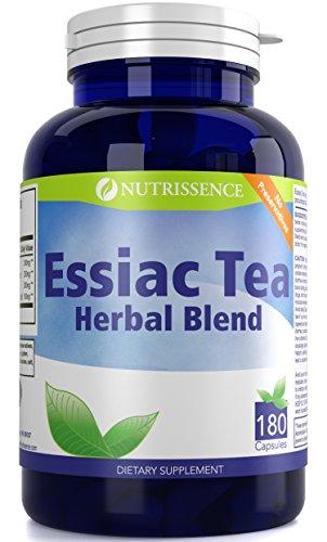 Essiac Tea Herbal Blend Dietary Supplement 180 Capsules – Nutrissence