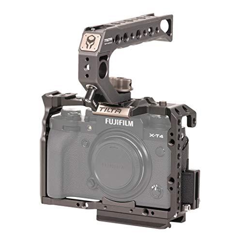 TILTA TA-T04-A-G Camera Cage Gabbia per fotocamera Fujifilm Fuji X-T3/X-T4 XT3/XT4 Tiltaing Kit A Rig (Tilta Gray)